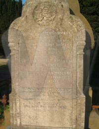 Thomas Watters Doggart Headstone