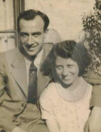 David Hutchinson Doggart 1919 and Gladys Calvin