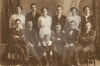 Maddock Family Jane and Thomas with 10 children