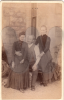 Marion Doggart and sister Jean with father Adam
